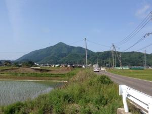 弥彦山全体図