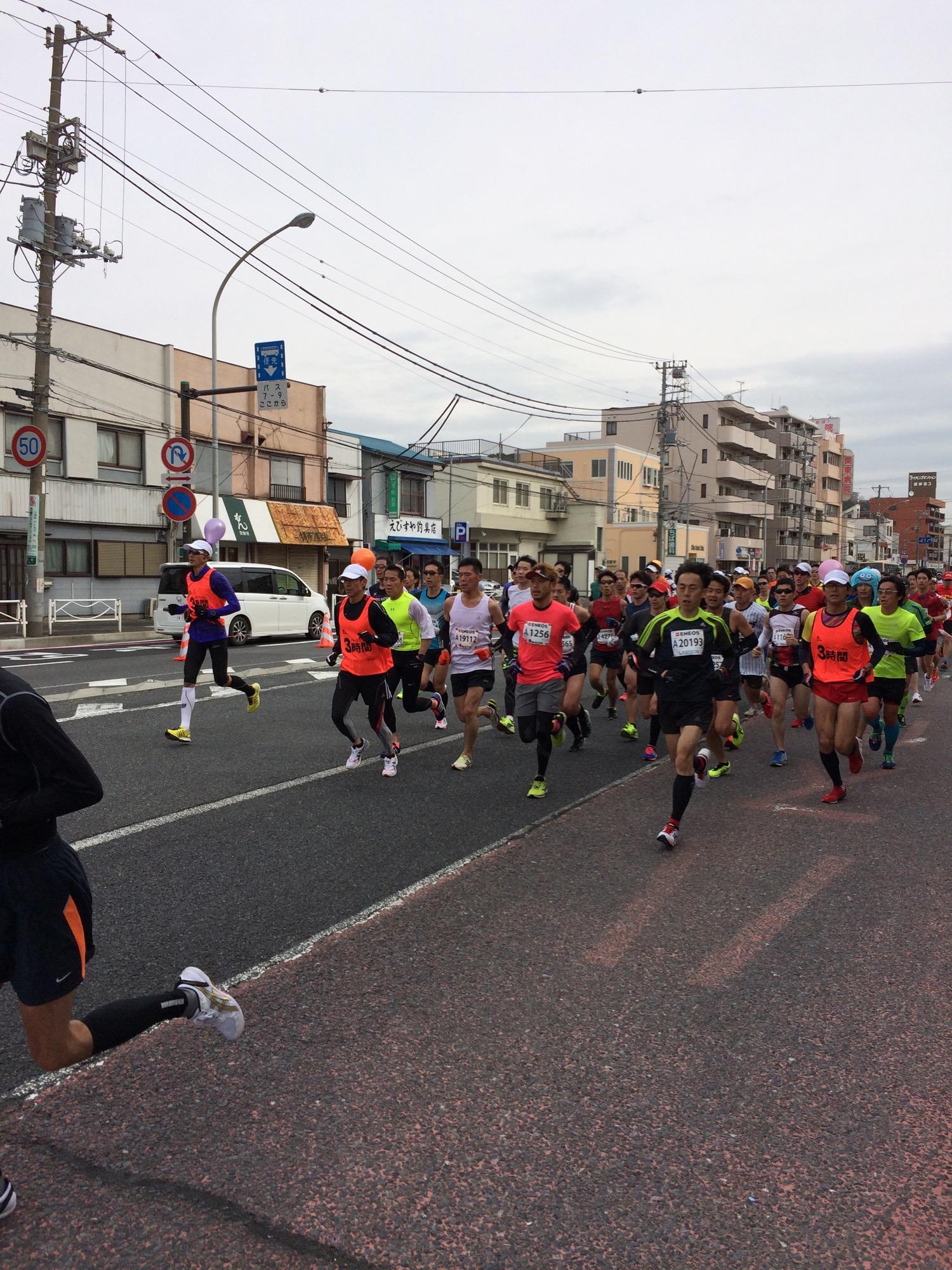 横浜15kmサブスリーペーサー軍団