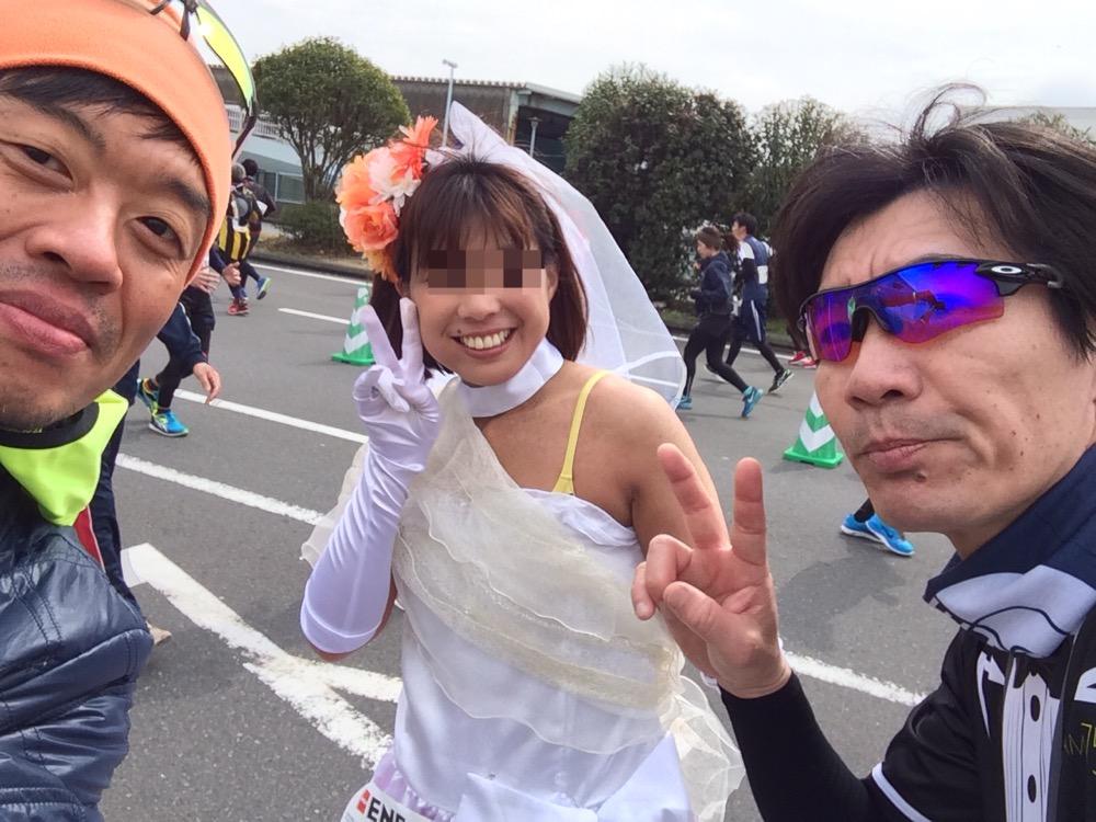 横浜36kmホシヲさん&チカちゃん