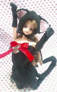 1,ジェニー黒猫