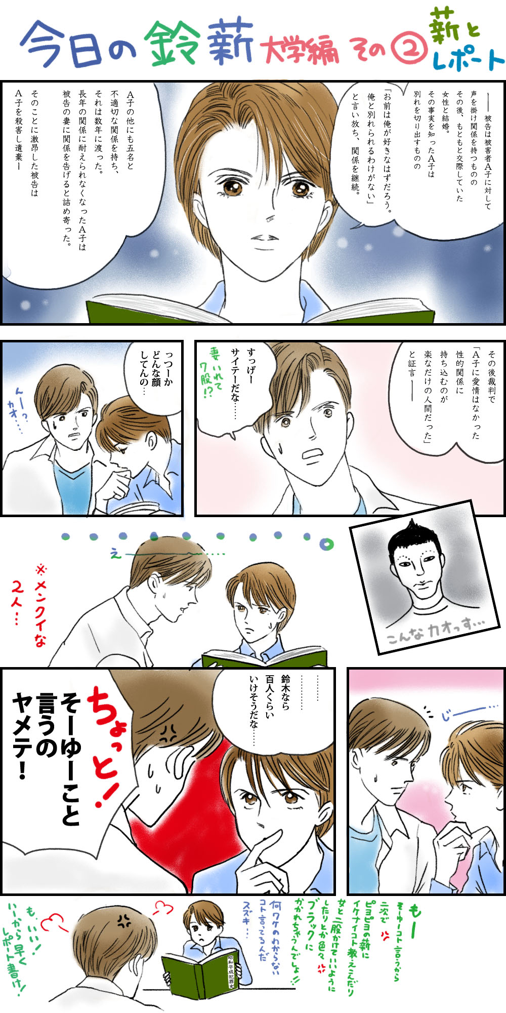 今日の鈴薪 大学編2
