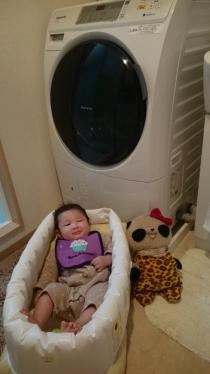 ドラム洗濯機が来た