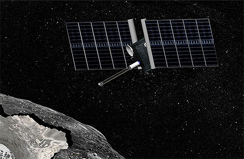NASAの金属小惑星探査機