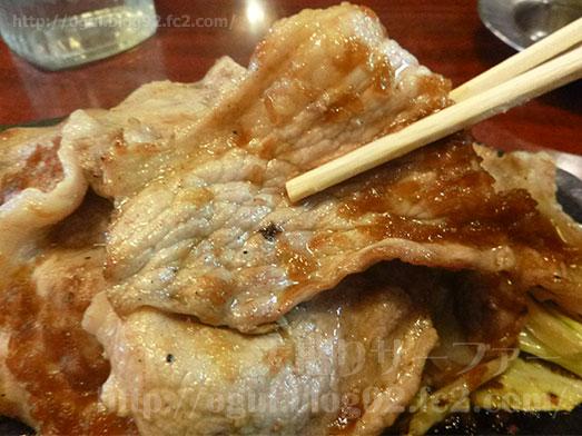 喫茶タクト豚のジュージュー焼き定食068