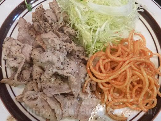 キッチンABC西池袋店大盛り豚からし焼肉025