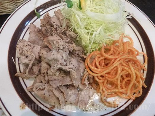キッチンABC西池袋店大盛り豚からし焼肉040