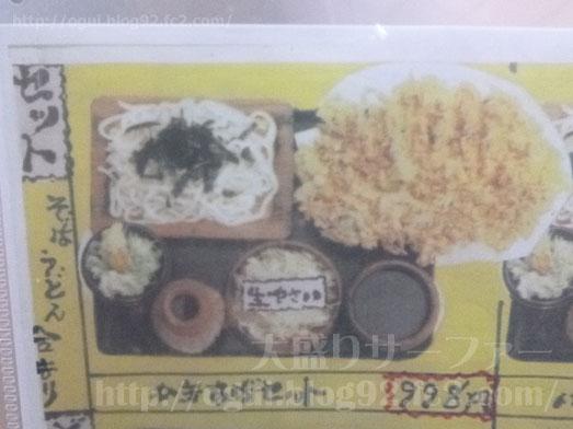 奥会津のチョモランマかき揚げセット011