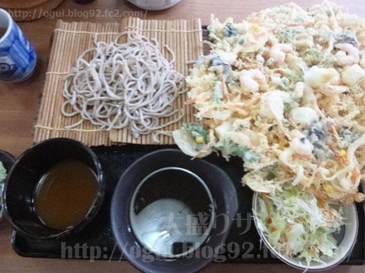 奥会津のチョモランマかき揚げセット025