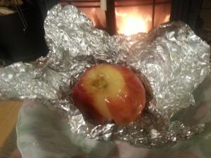 151209焼きリンゴ