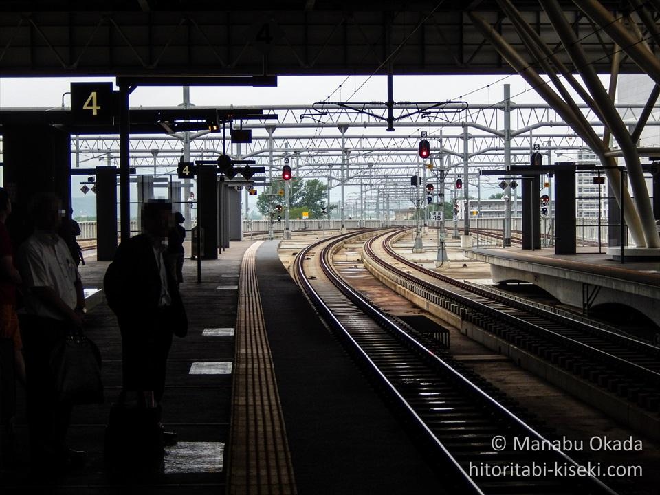 旭川駅のホームの光景2