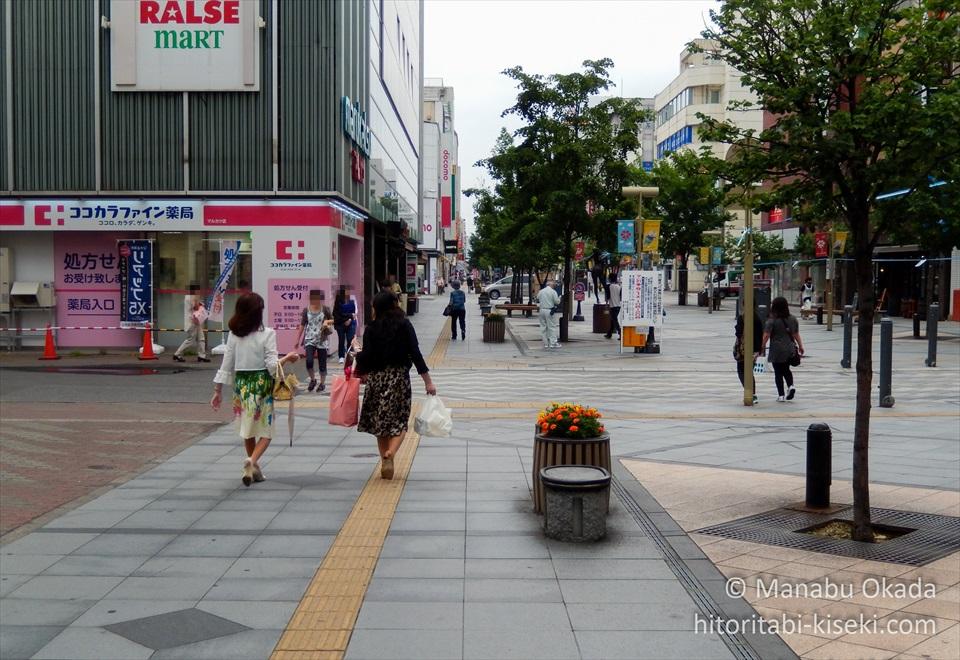 平和通買物公園の風景