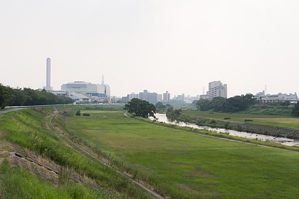 川沿い風景-2