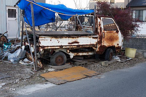 錆のトラック