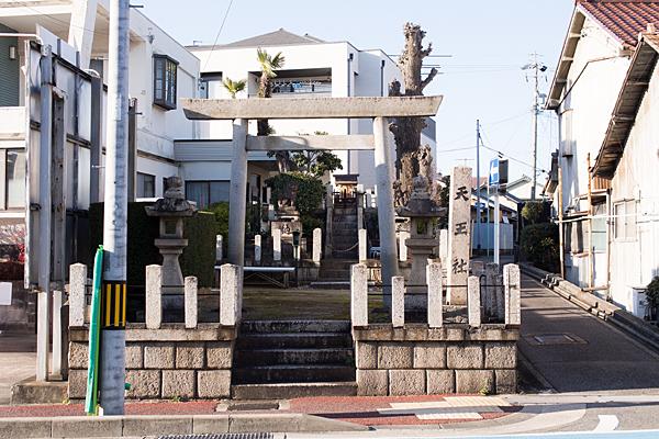 瀬戸街道天王社