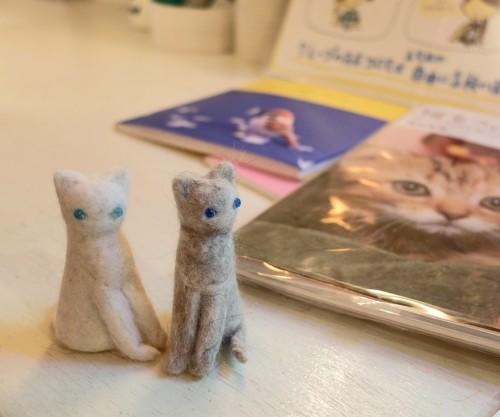 16個展猫の毛人形2