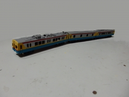 デヤ7900系の塗装ができました。