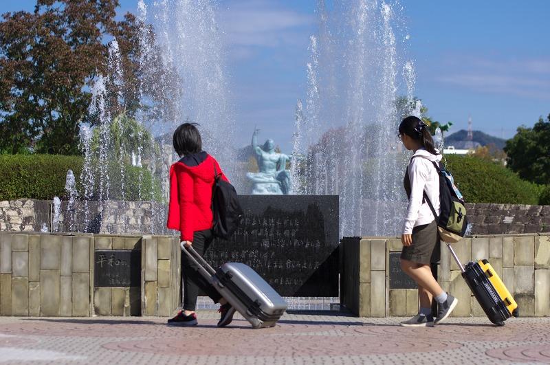長崎 平和公園 平和の泉