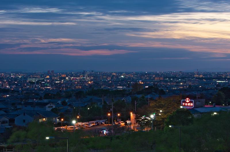 箕面スカイアリーナからの夜景