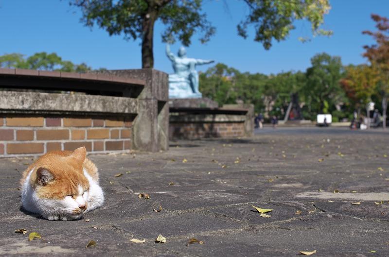 長崎 平和公園 平和祈念像