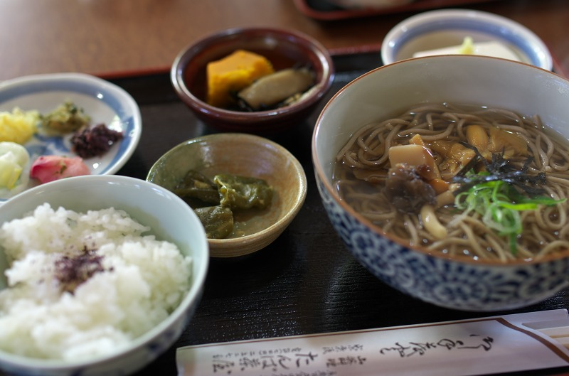 京都大原 たんば茶屋 田舎定食