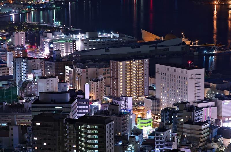 長崎にっしょうかん 夜景