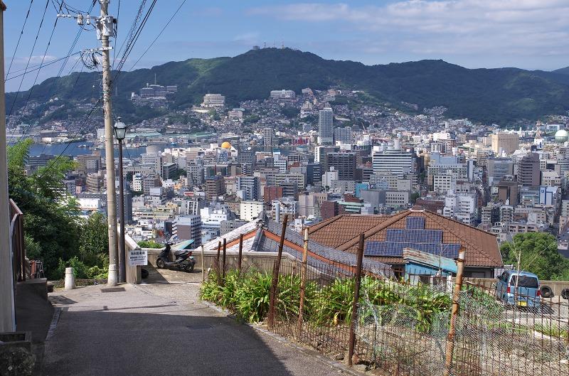 長崎 ヘイフリ坂からの眺望