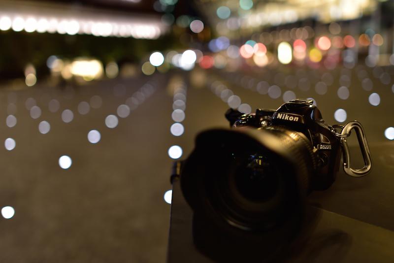 梅田 グランフロント 夜景