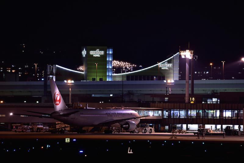伊丹空港 スカイパーク 流し撮り