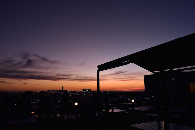 関西国際空港 夕景