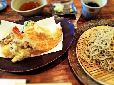 天ぷらせいろ蕎麦