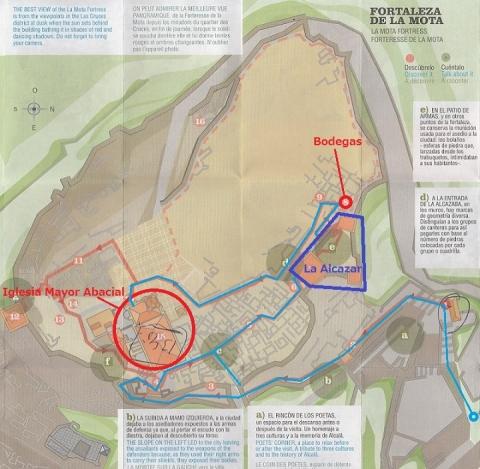 mapa de Fortaleza de la Mota 7