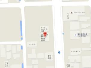 新、福井県委員会 地図