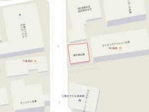 旧サイト宮城県委員会 地図