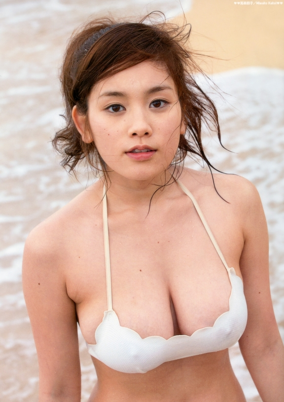 筧美和子 乳首ポチ発見!Hカップ爆乳おっぱいの勃起乳首 画像30枚 1