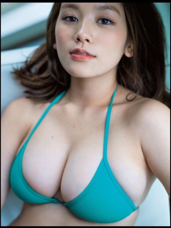 筧美和子 乳首ポチ発見!Hカップ爆乳おっぱいの勃起乳首 画像30枚 2