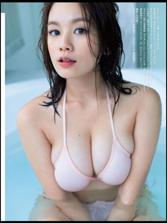 筧美和子 乳首ポチ発見!Hカップ爆乳おっぱいの勃起乳首 画像30枚 7