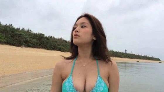 筧美和子 垂れ乳と噂のHカップ爆乳を水着グラビアで披露 画像40枚 27
