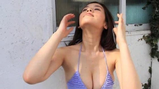 筧美和子 垂れ乳と噂のHカップ爆乳を水着グラビアで披露 画像40枚 36
