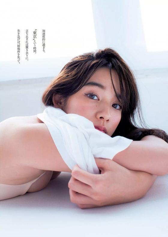 筧美和子 垂れ乳と噂のHカップ爆乳を水着グラビアで披露 画像40枚 3