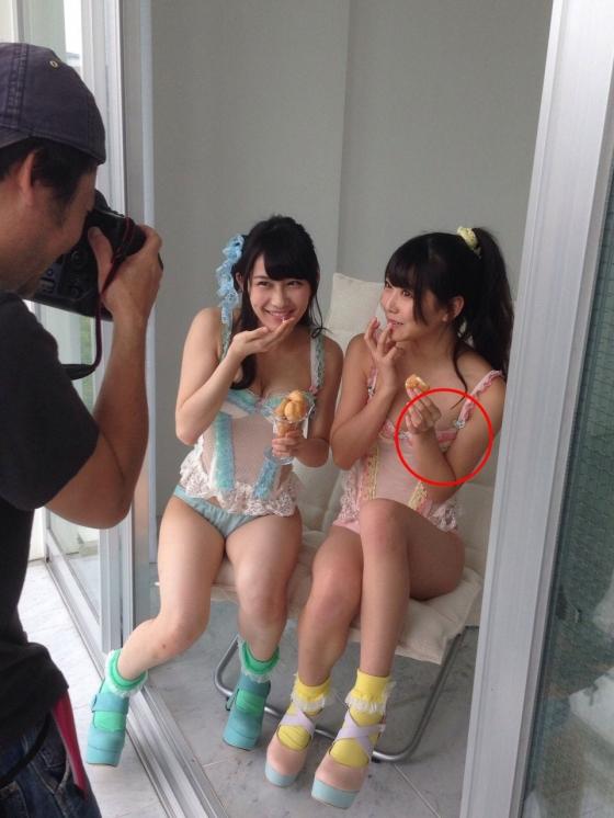 白間美瑠 乳輪チラした下着グラビアが公開されたアイドル 画像28枚 9