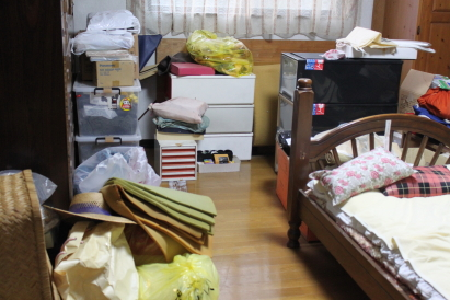 実家 父の部屋 2015