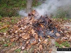 焼き芋 着火
