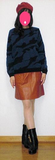 ゼブラのセーター