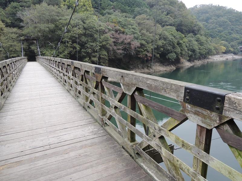天ヶ瀬吊橋からの眺め その1