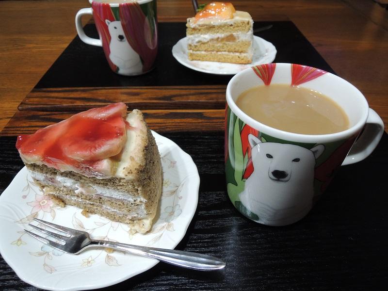 茶葉といちじくのケーキ ガトープラクミン