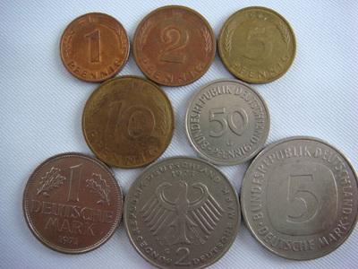 ドイツマルク 硬貨