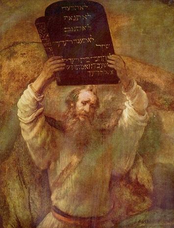 モーセの十戒(レンブラント)