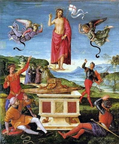 『キリストの復活』 ラファエロ・サンティ