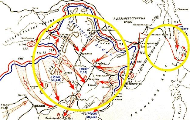 ソ連軍の侵攻