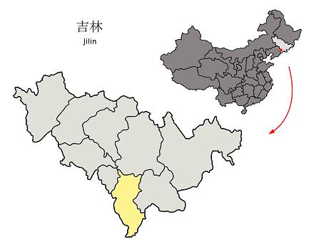 旧満州国通化省通化市(現吉林省通化市)